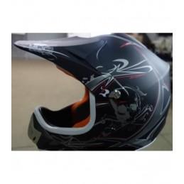 Detská MX prilba na motocykel NITRO PHX Enduro black