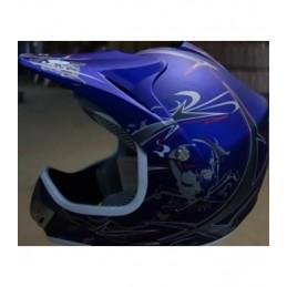 Detská MX prilba na motocykel NITRO PHX Enduro blue