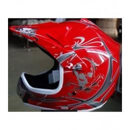 Detská MX prilba na motocykel NITRO PHX Enduro red