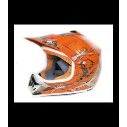 Detská MX prilba na motocykel NITRO PHX Enduro orange