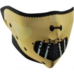 Tvárová maska ZAN HEADGEAR  half hannibal čierno-žltá