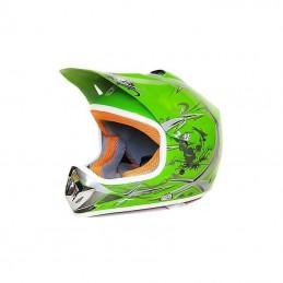 Detská MX prilba na motocykel NITRO PHX Enduro green