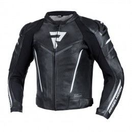 Bunda na motorku REBELHORN Fighter black/white