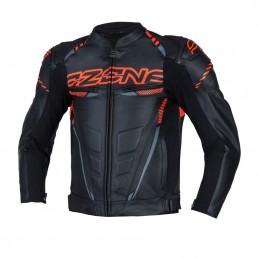 Bunda OZONE RS600-LJ black/flo red