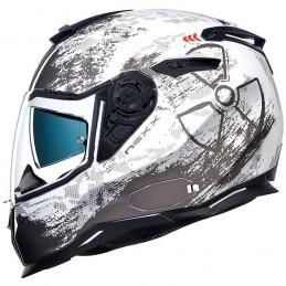 Prilba na motocykel Nexx SX.100 Toxic white