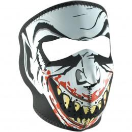 Tvárová maska ZAN HEADGEAR full vampire čierno-červeno-biela