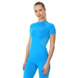 Dámske termo tričko BRUBECK Dry SS11960 light blue