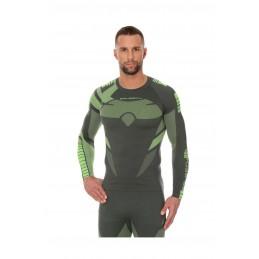 Termo tričko BRUBECK Dry LS13080 green