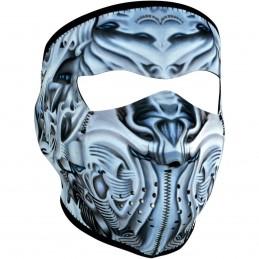 Tvárová maska ZAN HEADGEAR full biomechanical čierno-šedo-biela