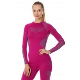 Dámske termo tričko BRUBECK Dry LS13070 pink