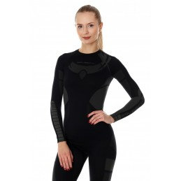 Dámske termo tričko BRUBECK Dry LS13070 black