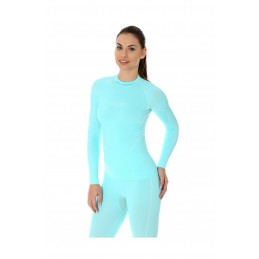 Dámske termo tričko Brubeck LS13100 light blue