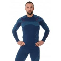 Termo tričko BRUBECK LS13040A jeans