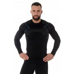 Termo tričko BRUBECK LS13040A black