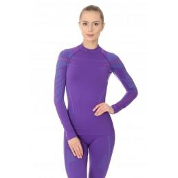 Dámske termo tričko BRUBECK LS13100A purple