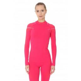 Dámske termo tričko BRUBECK LS13100A pink