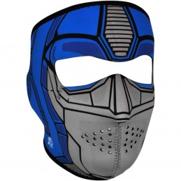 Tvárová maska ZAN HEADGEAR full guardian čierno-modro-šedá