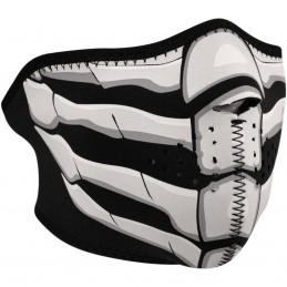 Tvárová maska ZAN HEADGEAR half bone breath čierno-šedo-biela