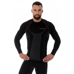 Termo tričko BRUBECK LS15050 black