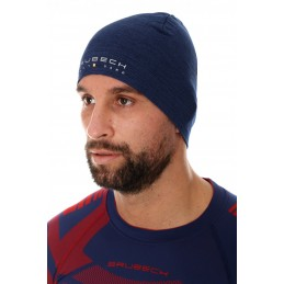 Termo čiapka BRUBECK HM10180 unisex dark blue
