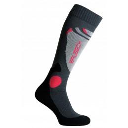 Termo ponožky BRUBECK BMB001 unisex grafitové
