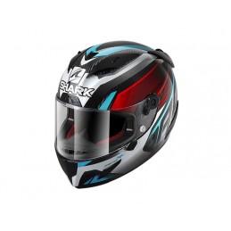 Prilba na motorku SHARK Race-R Pro Aspy Carbon red blue chrome
