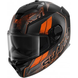 Prilba na motorku SHARK Spartan GT Ryser black grey orange
