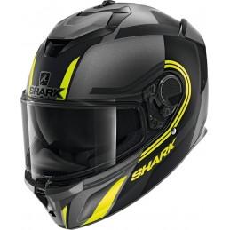 Prilba na motorku SHARK Spartan GT Tracker mat black anthracite yellow