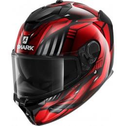 Prilba na motorku SHARK Spartan GT Replikan black chrome red