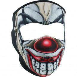 Tvárová maska ZAN HEADGEAR full chicano clown čierno-bielo-červená