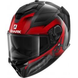 Prilba na motorku SHARK Spartan GT Carbon Shestter anthracite red