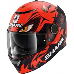 Prilba na motorku SHARK Spartan Replica Lorenzo mat GP red black red