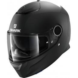 Prilba na motorku SHARK Spartan Blank mat black mat