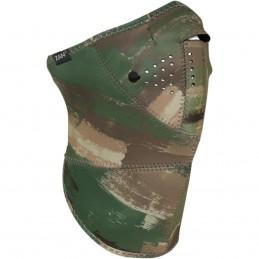 Tvárová maska ZAN HEADGEAR half camouflage zeleno-hnedá