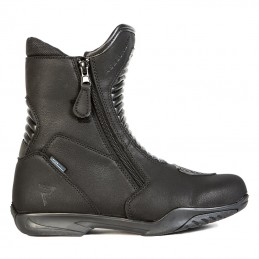 Topánky na motocykel REBELHORN Rio black matt