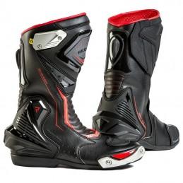 Topánky na motocykel REBELHORN Piston II CE black flo red