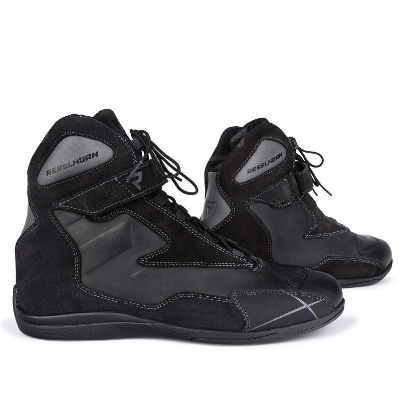 Topánky na motocykel REBELHORN Spark black