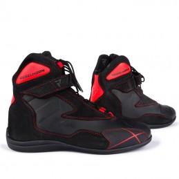 Topánky na motocykel REBELHORN Spark black flo red