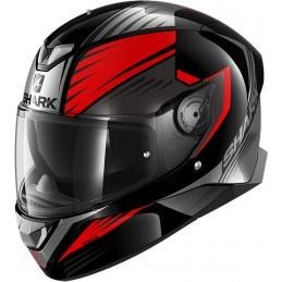 Prilba na motorku SHARK Skwal 2.2 Hallder black red anthracite