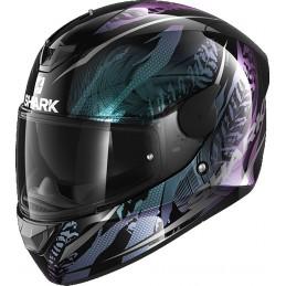 Prilba na motorku SHARK D-Skwal 2 Shigan black violet glitter