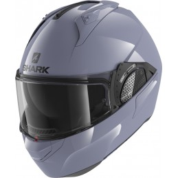Prilba na motorku SHARK Evo GT Blank graphite gray