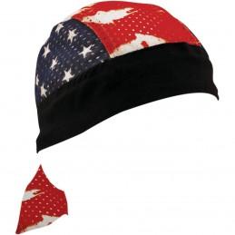Šatka ZAN HEADGEAR sport patriotic vented čierno-modro-červeno-biela