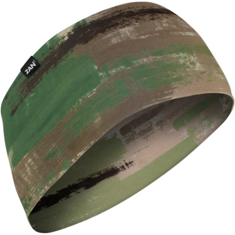 Čelenka ZAN HEADGEAR sportflex brushcamo čierno-hnedo-zelená