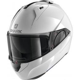 Prilba na motorku Shark Evo-ES Blank white