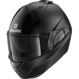 Prilba na motorku SHARK Evo-ES Blank mat black mat