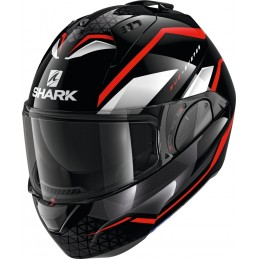 Prilba na motorku SHARK Evo-ES Yari black red white