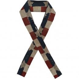 Šatka ZAN HEADGEAR patriot modro-červeno-biela