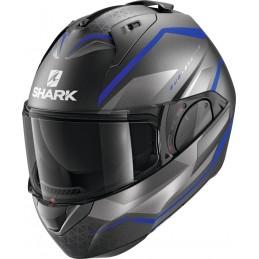 Prilba na motorku SHARK Evo-ES Yari mat grey blue