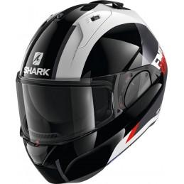 Prilba na motorku SHARK Evo-ES Endless black red white