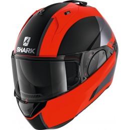 Prilba na motorku SHARK Evo-ES Endless mat orange black black